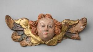 MUO-006973: anđeoska glavica: reljef