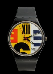 MUO-032022: Swatch Nine to Six: ručni sat