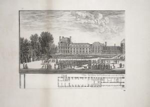 MUO-055694/01: Pogled na palaču Tuileries s vrtne strane 1: grafika