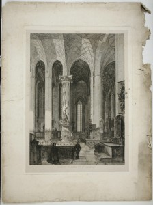 MUO-056638: Rokoko propovjedaonica u crkvi Sv. Marije: grafika
