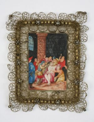 MUO-016301: Krunjenje trnovom krunom: posvetna slika