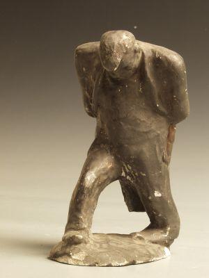 MUO-040142: SKICA ZA KIP: statueta