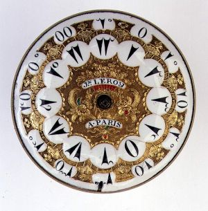 MUO-013459: mehanizam, brojčanik džepnog sata