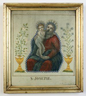 MUO-004599: Sv. Josip: posvetna slika