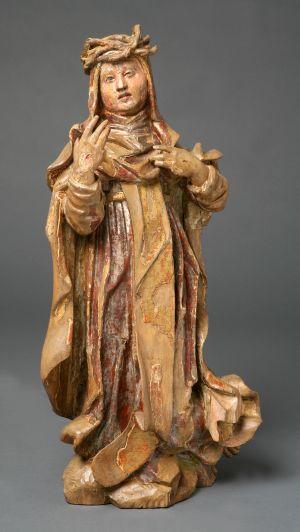 MUO-002776: Sv. Katarina Sienska: kip