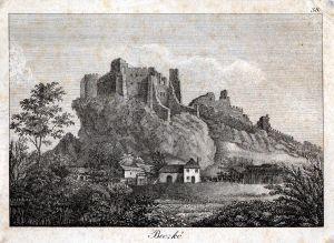 MUO-005038: Stari grad Beczko: grafika