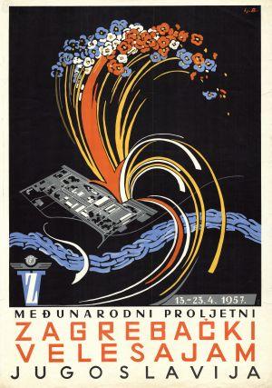 MUO-010997: Međunarodni proljetni zagrebački velesajam: plakat