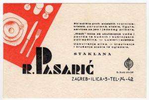 MUO-008307/02: R. Pasarić staklana: poslovna karta