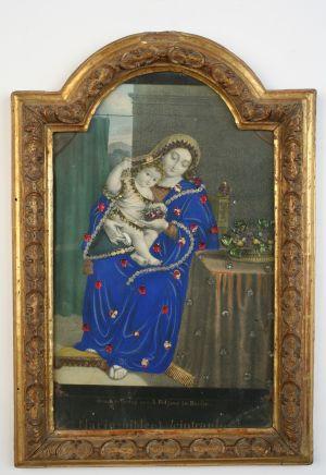 MUO-004603: Majka Božja s Isusom: posvetna slika