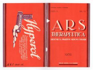 MUO-008308/15: ARS THERAPEUTICA: korice za časopis