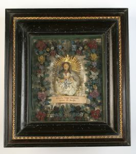 MUO-013302: Djevica Marija: posvetna slika