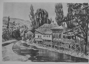 MUO-029894/06: Sarajevo: Kafana na Miljackoj: grafika