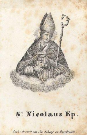 MUO-009308/10: St. Nicolaus Ep.: sveta sličica