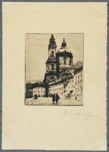 MUO-058389/04: Motiv iz Praga IV: grafika