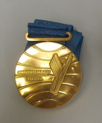 MUO-018210/03: Zlatna medalja Univerzijada 87: medalja