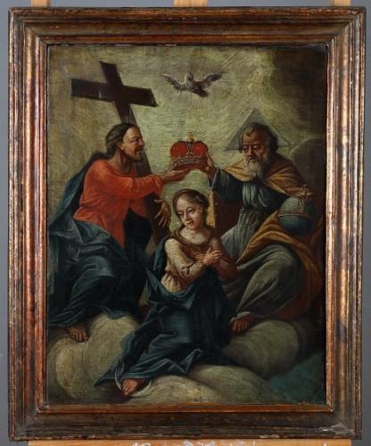 MUO-004519: Krunjenje Bogorodice: slika