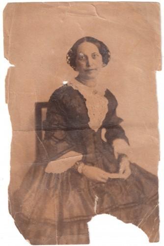 MUO-007461/46: Portret gospođe: fotografija