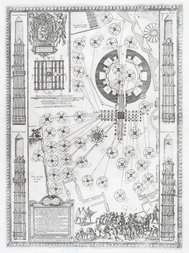 MUO-058261: Plan Piazze napravljen za podizanje obeliska