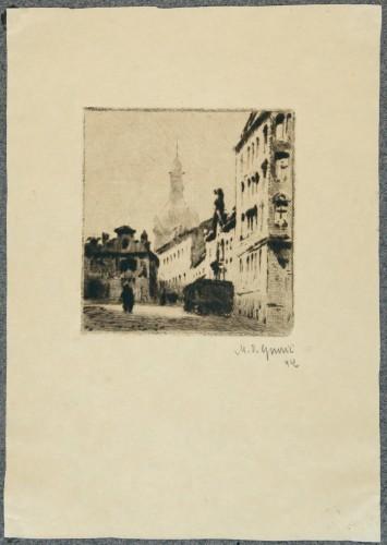 MUO-058389/03: Motiv iz Praga III: grafika
