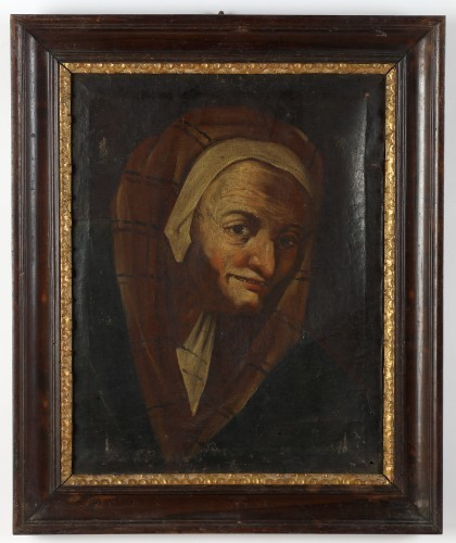 MUO-000023: Glava starice: slika
