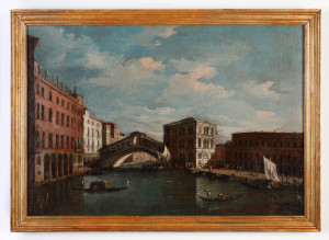 MUO-000002: Pogled na Canal Grande i Rialto: slika
