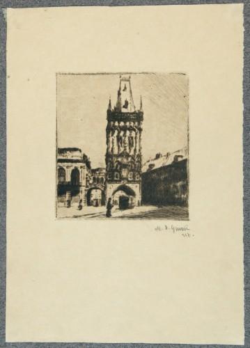 MUO-058389/05: Motiv iz Praga V: grafika