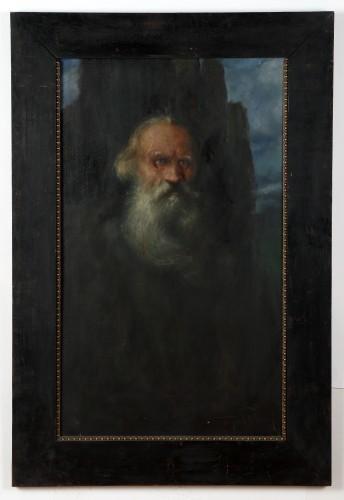 MUO-004469: Portret Tolstoja: slika