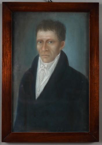 MUO-014765: Portret muškarca: slika