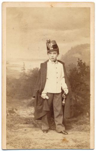 MUO-005609/37: Prijestolonasljednik Rudolf kao dijete: fotografija
