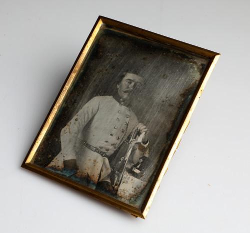 MUO-007846: Portret gospodina Pečarića: dagerotipija