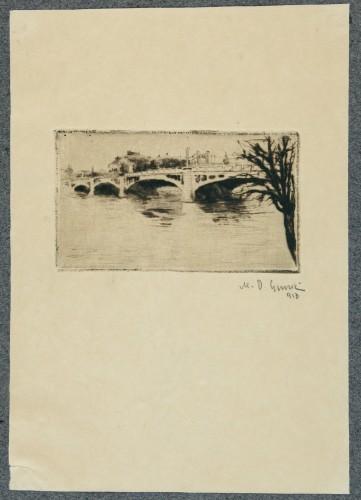 MUO-058389/07: Motiv iz Praga VII: grafika
