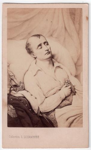 MUO-006094/29: Umirući Napoleon: fotografija