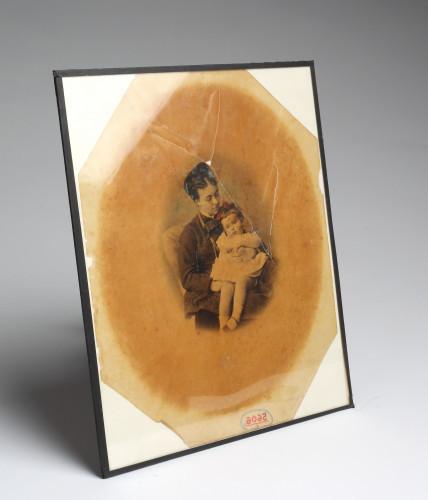 MUO-005606/01: Majka s djevojčicom: fotografija