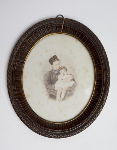 MUO-005606/02: Majka s djevojčicom: fotografija