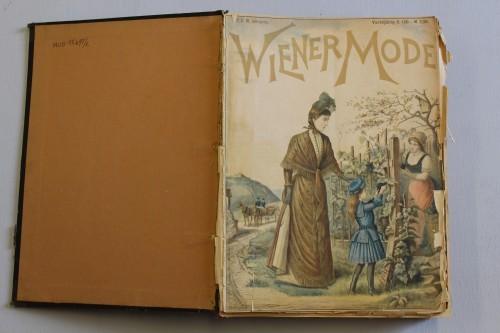 MUO-015695/01: Wiener Mode: časopis